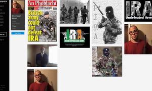 Sur son profil MySpace, Chris Harper Mercer a publié des photos de lui tenant un fusil et des références à l'IRA.