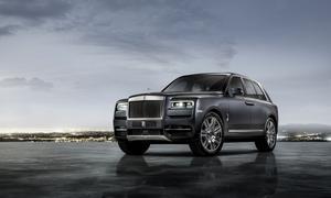SUV Rolls Cullinan.