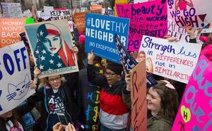 La marche des femmes à Washington.
