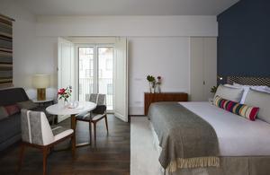 À Lisbonne, le Lumiares, un hôtel lumineux