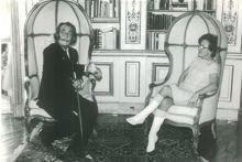 Jeanne Augier aimait l'univers de Salvador Dalí mais ne comprenait pas Chagall: «Il faisait voler les ânes!»