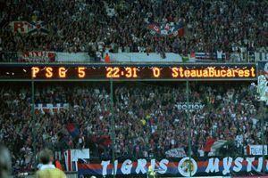 Battu 3-0 sur tapis-vert à l'aller, le PSG l'emporte 5-0 au retour.