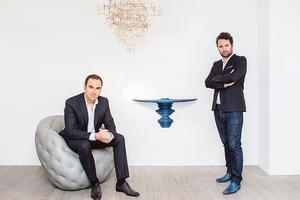 Loïc LeGaillard et Julien Lombrail de la Carpenters Workshop Gallery.