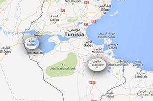 La ville de Naftah, où s'est déroulé le tournage de <i>Star Wars</i>, est à plus de cinq heures de route de la frontière libyenne. Elle n'est pas sous menace des djihadistes, contrairement à la région du désert de Tataouine.