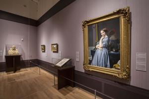 Vue de l'exposition «The Firck Collection - Art Treasure from New York», au Mauritshuis de La Haye.