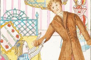 <i>Les Aventures d'Alice Laselles </i>faisaient partie d'un devoir de rédaction demandée à la petite princesse.