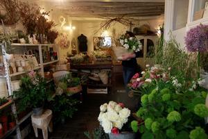 On the Sunny Side, l'atelier floral de Mathilde Vial, la femme d'Alex Lutz .