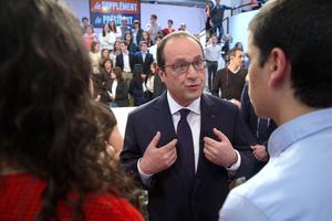 François Hollande dimanche sur le plateau de Canal +.