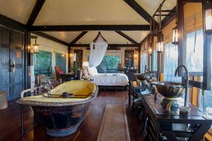 Le Four Seasons Tented Camp.