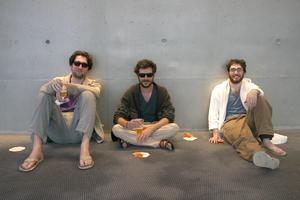 Raphaël, Samuel et Matthias, la Dude attitude.