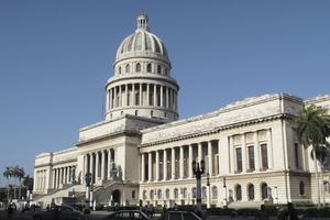 Le Capitolio, immense réplique du Capitole de Washington.
