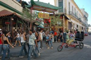 Le quartier chinois de La Havane, le Barrio Chino.