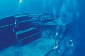 Les énigmatiques vestiges sous-marins de Yonaguni.