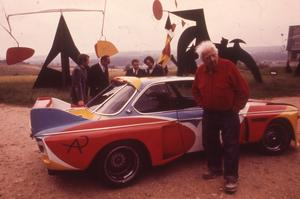 La BMW 3.0 CSL par Calder