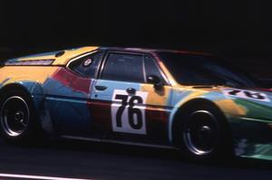 La BMW M1 imaginée par Andy Warhol
