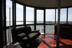 Au sommet du phare de Kerbel (DR)