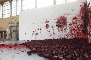 <i>Shooting Into The Corner</i> déjà exposé à la Royal Academy of Arts à Londres en 2009.