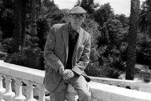 Henry Miller au Festival de Cannes en 1960.