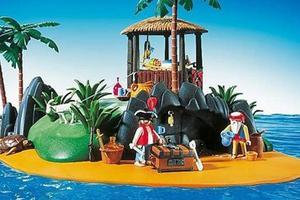 L'île au trésor de Playmobil - collection 1991. Crédit: Twitter/@playmobil
