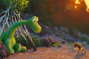 <i>Le Voyage d'Arlo </i>( <i>The Good Dinosaur</i>), de Peter Sohn.