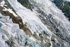 La Jonction, glaciers des Bossons et de Taconnaz (Aurore Bagarry)