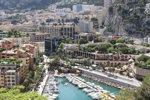 Monaco, entre la France et l'Italie.