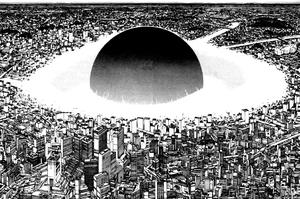 La bombe dans <i>Akira.</i>