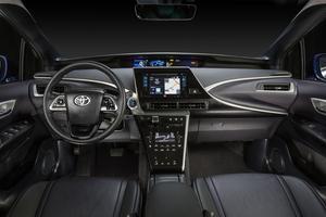 Un intérieur moderne, mais pas plus que celui d'une Prius.