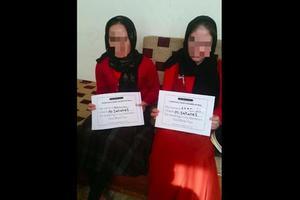 Deux femmes libérées en juillet dernier. CP: CYCI