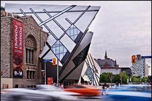 Royal Ontario Museum situé à Toronto.