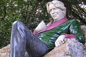 Oscar Wilde dans Merrion Park.