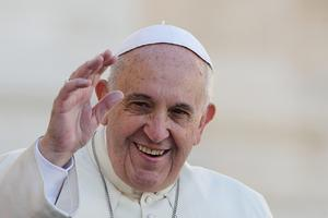 Le Pape François, nommé ainsi en hommage à Saint François d'Assise, patron de l'écologie.
