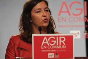Laura Slimani, présidente du MJS