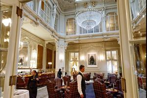 Le Grandhotel Pupp, à Karlsbad. Le palace néobaroque le plus ancien de la ville.