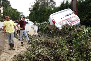 Les orages ont été d'une violence inédite avec un record de 180 millimètres de pluie tombés en quelques heures