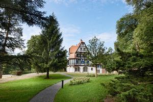 La Villa René Lalique, l'un des plus chics hôtels de la région alsacienne.
