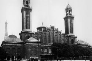L'ancien palais du Trocadéro construit en 1878.