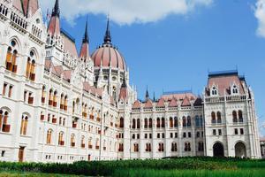 Le Parlement hongrois à Budapest.