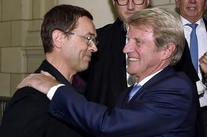 L'ancien ministre est venu témoigner à la barre à la fin du procès de Nicolas Bonnemaison.