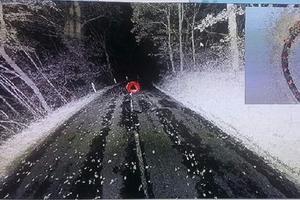 Modélisation en 3D de la scène de l'accident.