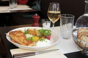 Le fish no chips du Café Trama (VIe).