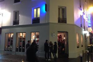 Le bar «En vrac» dans le 18e arrondissement