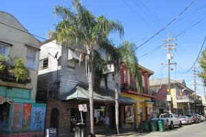 Les maisons de type colonial de la Nouvelle-Orléans.
