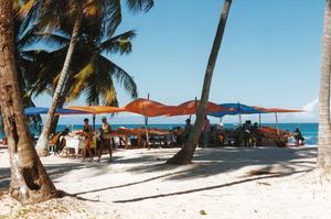 Le marché de Punta Cana.