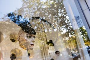 Boutique de Fiona Bennett, modiste star du Berlin underground des seventies.