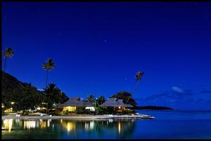 L'Intercontinental de Tahiti.