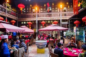 Le Lao Fangzi à Kunming.