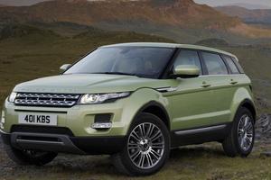 Le Range Rover Evoque remporte la palme du SUR premium le plus dérobé avec une deuxième position (167 vols).