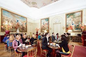 Le Café du Musée Jacquemart-André.