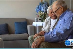Joyce et Norwood. <i>Capture d'écran de Channel 10.</i>